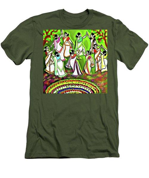 Onam Festival Men's T-Shirt (Athletic Fit)