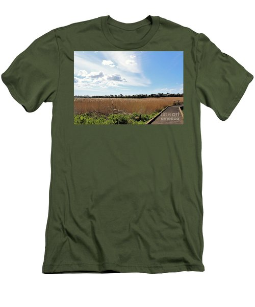 Men's T-Shirt (Slim Fit) featuring the photograph One Beautiful Day... by Katy Mei