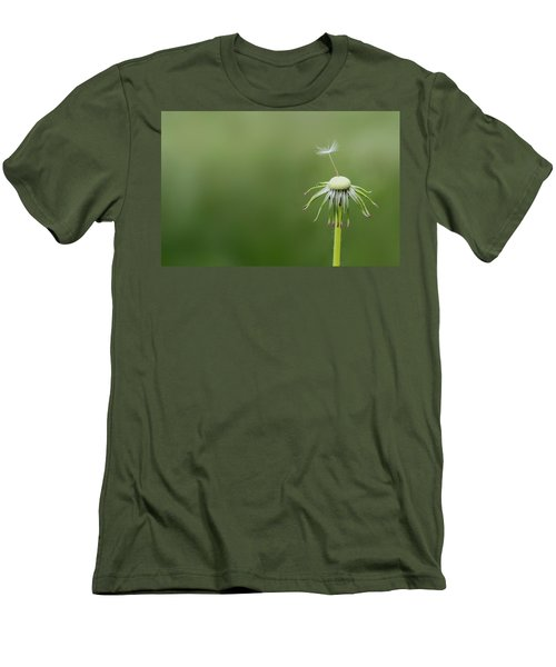 Men's T-Shirt (Slim Fit) featuring the photograph One Dandy by Bess Hamiti