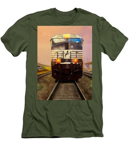 One Track Mind Men's T-Shirt (Athletic Fit)