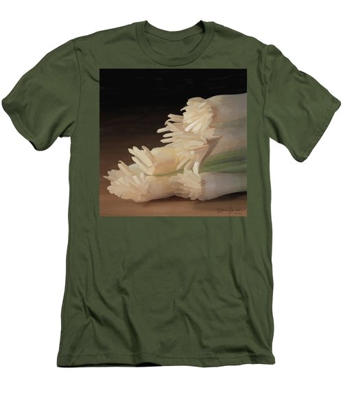 Onions 01 Men's T-Shirt (Slim Fit) by Wally Hampton