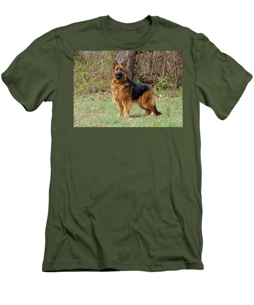Men's T-Shirt (Slim Fit) featuring the photograph Onja by Sandy Keeton