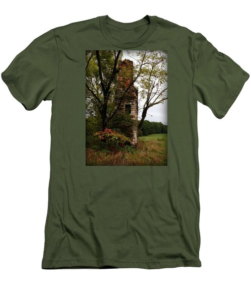 Men's T-Shirt (Slim Fit) featuring the photograph Only Thing Left Standing by Katie Wing Vigil