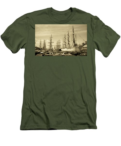 Operation Sail 1992 Brooklyn Men's T-Shirt (Athletic Fit)