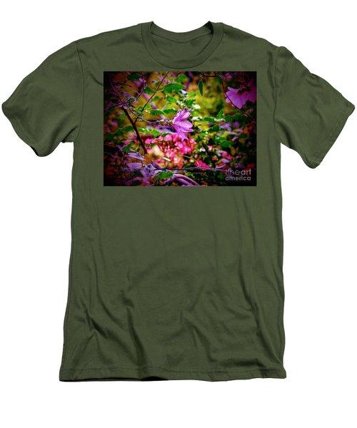 Opulent Lily Men's T-Shirt (Athletic Fit)
