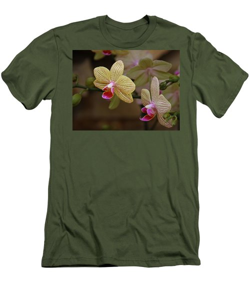 Opulent Orchids Men's T-Shirt (Athletic Fit)