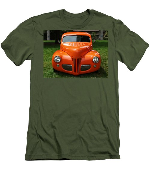 Orange Classic  Men's T-Shirt (Athletic Fit)
