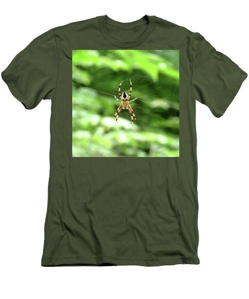Orb Weaver Men's T-Shirt (Athletic Fit)