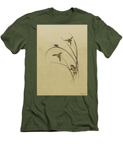 Orchid Sonata Men's T-Shirt (Athletic Fit)