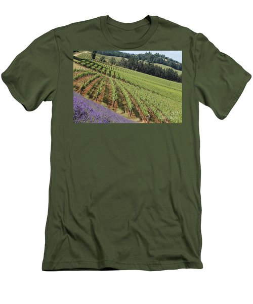 Oregon Vineyard Men's T-Shirt (Athletic Fit)