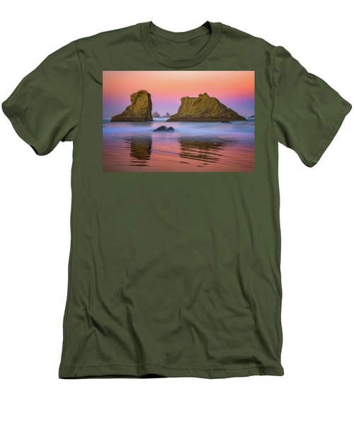 Oregon's New Day Men's T-Shirt (Slim Fit) by Darren White
