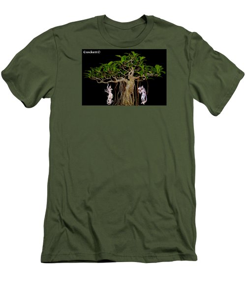 Oriental Bonsai Gods Men's T-Shirt (Athletic Fit)