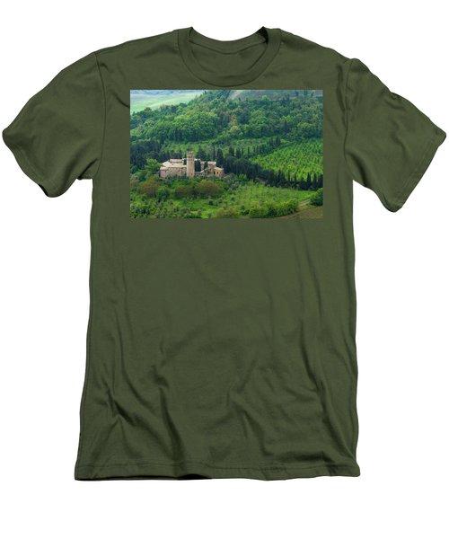 Orvieto Castle Men's T-Shirt (Athletic Fit)