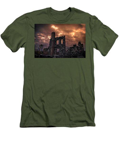 Men's T-Shirt (Slim Fit) featuring the photograph Osler Castle by Michaela Preston