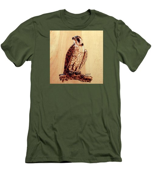 Osprey 2 Pillow/bag Men's T-Shirt (Slim Fit) by Ron Haist