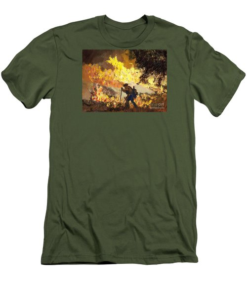Our Heroes Tonight Men's T-Shirt (Athletic Fit)