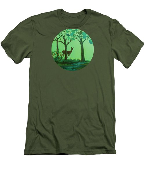 Out Of The Forest Men's T-Shirt (Athletic Fit)