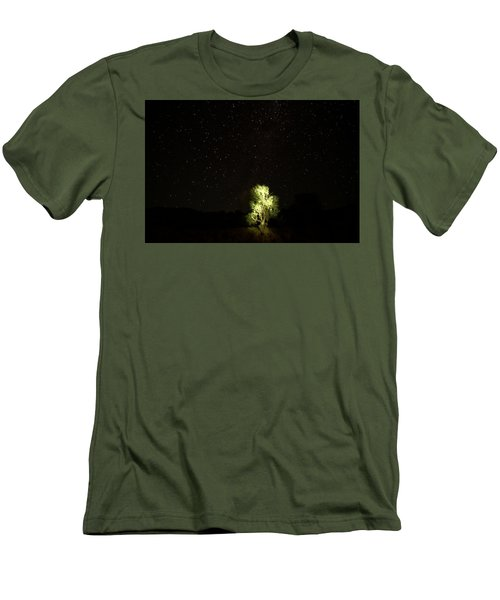 Men's T-Shirt (Slim Fit) featuring the photograph Outback Light by Paul Svensen
