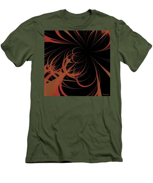 Men's T-Shirt (Slim Fit) featuring the digital art Outbreak by Dragica  Micki Fortuna