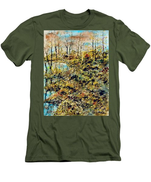 Outside Trodden Paths Men's T-Shirt (Athletic Fit)