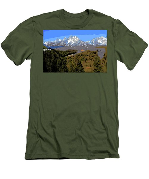 Overlook Men's T-Shirt (Athletic Fit)