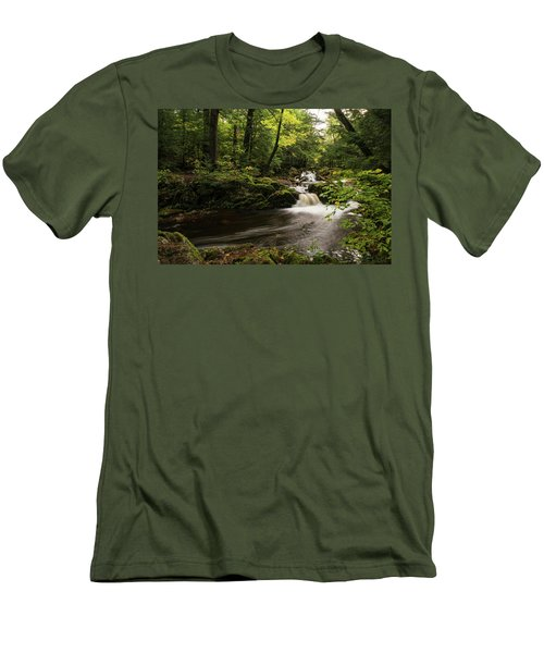 Overlooked Falls Men's T-Shirt (Athletic Fit)