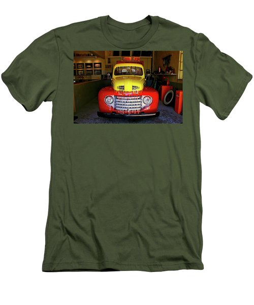 Overpainted 1950 Ford Pickup Men's T-Shirt (Athletic Fit)