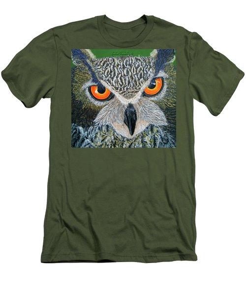 Owl Capone Men's T-Shirt (Athletic Fit)
