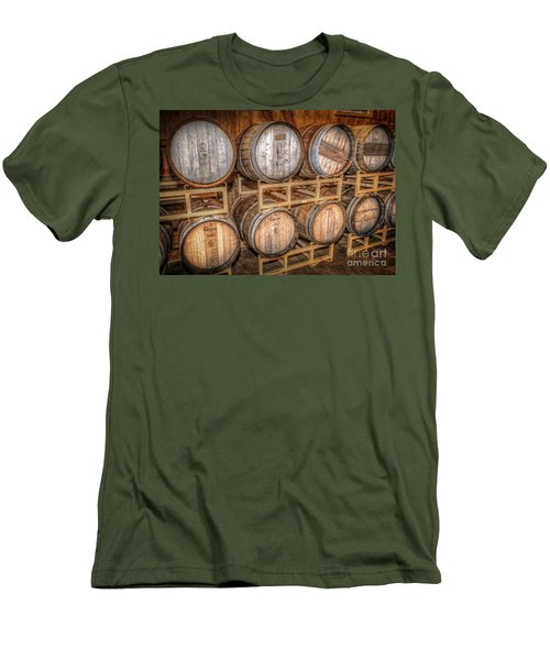 Owl's Eye Winery Men's T-Shirt (Slim Fit) by Marion Johnson
