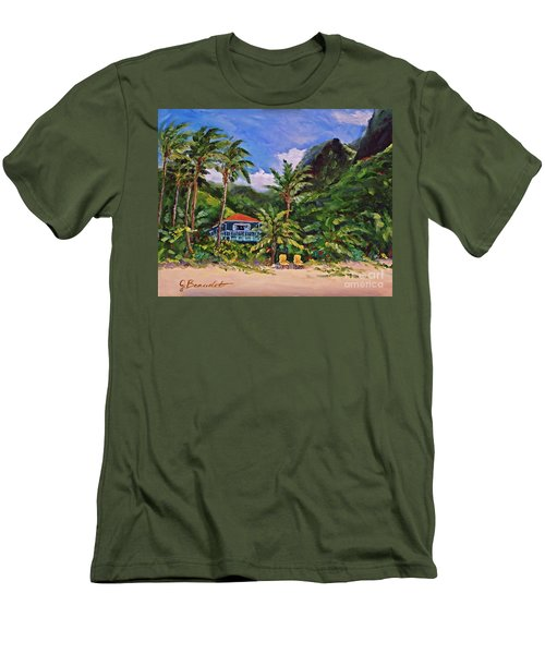 P F Men's T-Shirt (Slim Fit) by Jennifer Beaudet