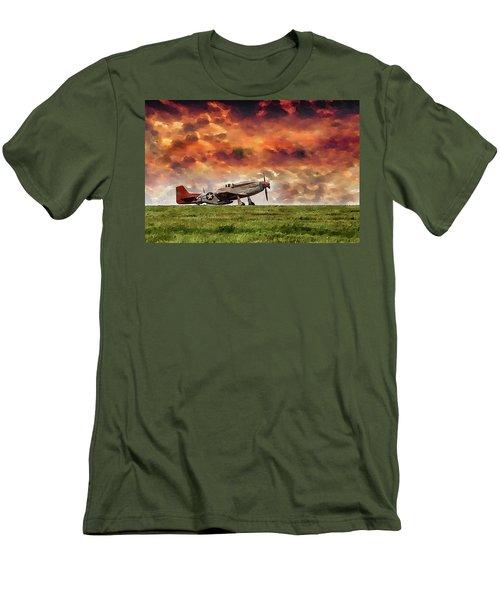 P51 Warbird Men's T-Shirt (Athletic Fit)
