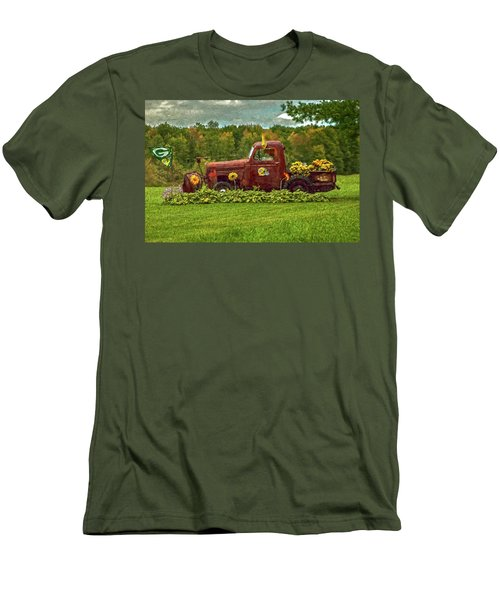 Packers Plow Men's T-Shirt (Slim Fit) by Trey Foerster