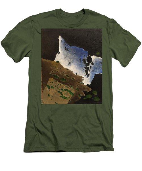 Pages Men's T-Shirt (Slim Fit) by Steve  Hester