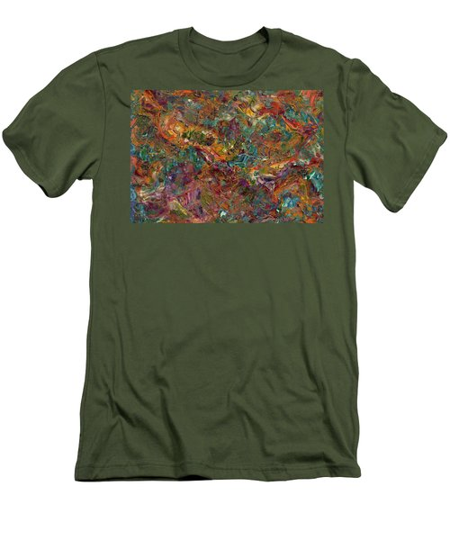 Paint Number 16 Men's T-Shirt (Slim Fit) by James W Johnson