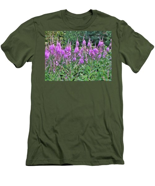 Painted Fireweed Men's T-Shirt (Athletic Fit)