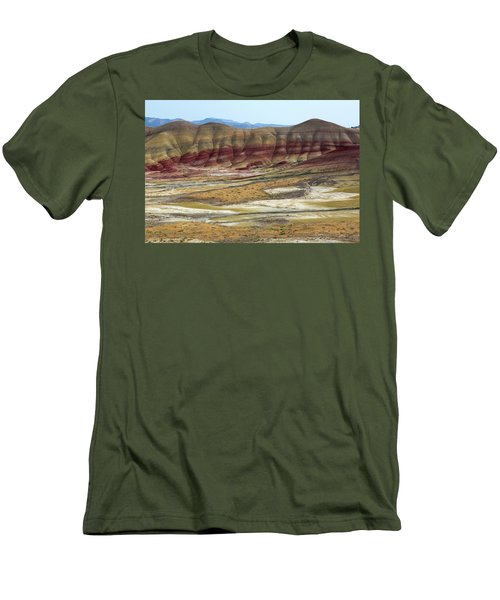Painted Hills View From Overlook Men's T-Shirt (Athletic Fit)