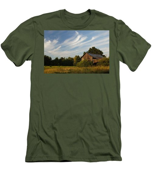 Painted Sky Barn Men's T-Shirt (Athletic Fit)