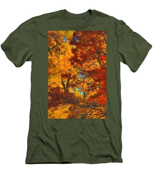 Painterly Men's T-Shirt (Slim Fit) by Lyle Hatch