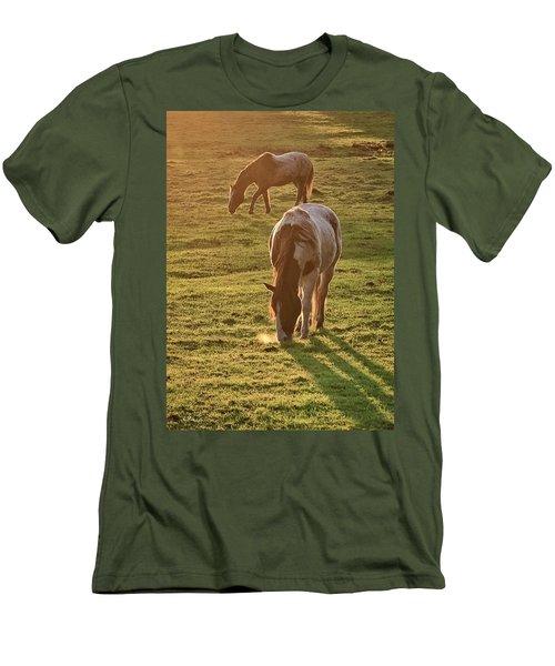 Paints Backlit Men's T-Shirt (Athletic Fit)