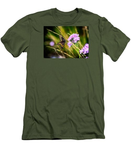 Palamedes Swallowtail Men's T-Shirt (Athletic Fit)