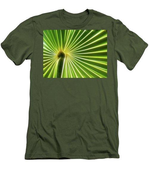 Palm Glow Men's T-Shirt (Athletic Fit)