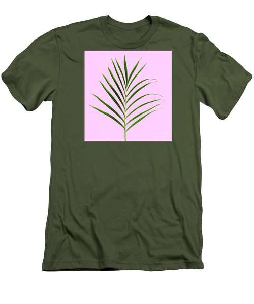 Palm Leaf Men's T-Shirt (Athletic Fit)