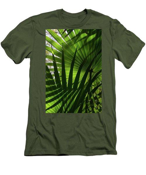 Palm Study 1 Men's T-Shirt (Slim Fit) by Dana Sohr