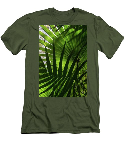 Palm Study 1 Men's T-Shirt (Athletic Fit)