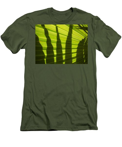 Men's T-Shirt (Slim Fit) featuring the photograph Palmetto 4 by Renate Nadi Wesley