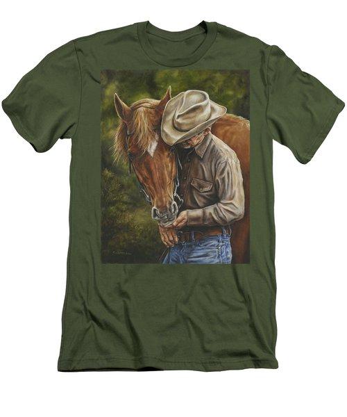 Pals Men's T-Shirt (Slim Fit) by Kim Lockman