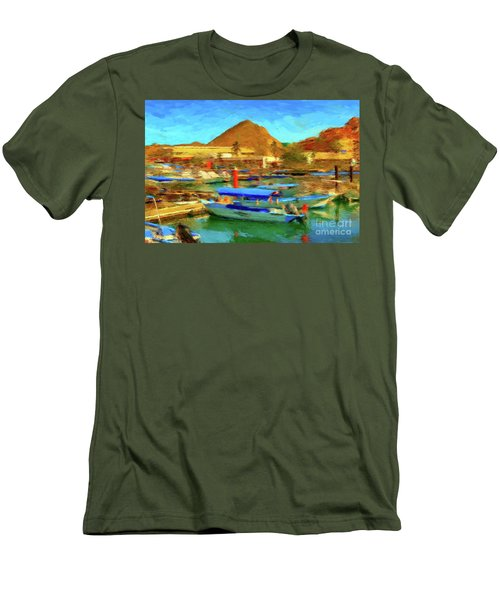 Pangas With Land's End Men's T-Shirt (Slim Fit) by Gerhardt Isringhaus