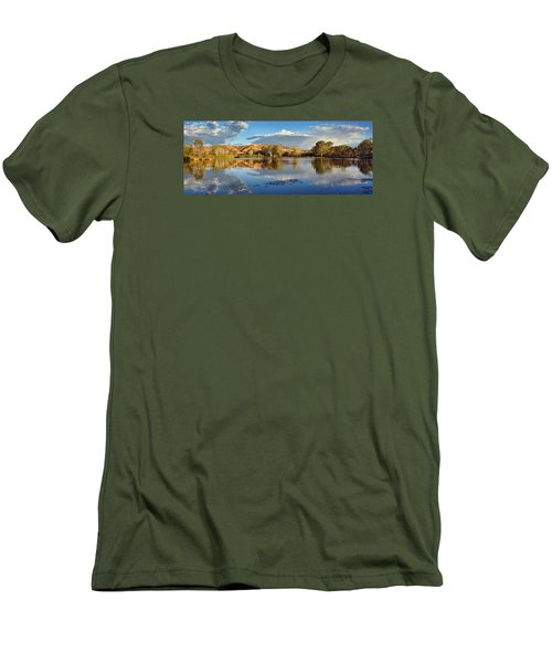 Panoramic Reflections Men's T-Shirt (Athletic Fit)