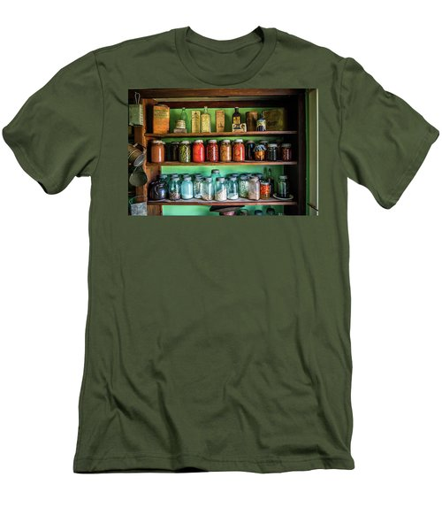 Men's T-Shirt (Slim Fit) featuring the photograph Pantry by Paul Freidlund