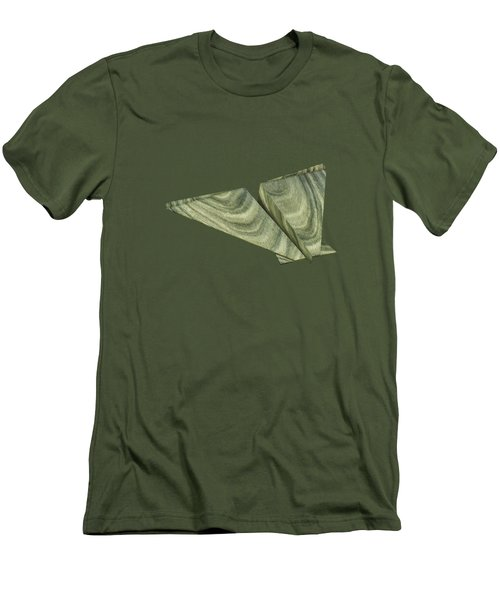 Paper Airplanes Of Wood 19 Men's T-Shirt (Slim Fit) by YoPedro